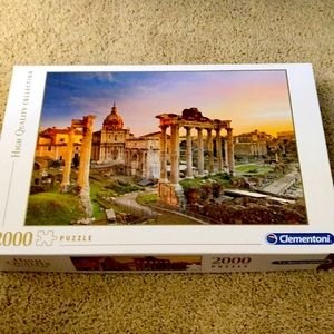2000 piece Clementoni puzzle